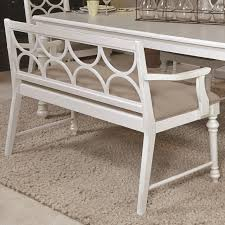 Upholstered Dining Room Bench With Back Upholstered Dining Bench With Decorative Wood Back Dining Bench