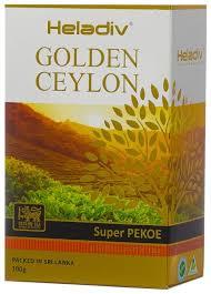 <b>Чай черный Heladiv</b> Golden Ceylon Super PEKOE — купить по ...