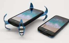 This clever <b>case</b> pops open to <b>protect</b> your phone when you <b>drop</b> it ...