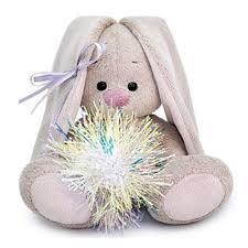 <b>Мягкая игрушка BUDI BASA</b> SidX-352 Зайка Ми с новогодней ...