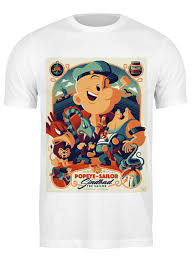 <b>Футболка классическая</b> Моряк Попай / Popeye the Sailor ...
