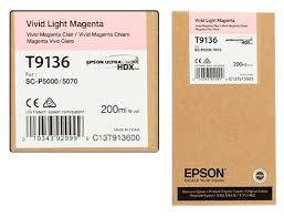 <b>Epson T9136</b> Ink Cartridge, <b>Vivid</b> Light Magenta 200ml, Rs.4250 ...