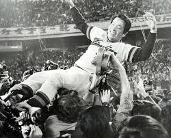 「1975年 - 広島東洋カープがリーグ初優勝」の画像検索結果