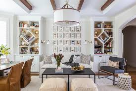 view full size chic home office features