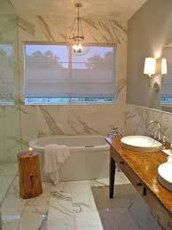 Small Bathroom Stools Bathroom Small Bathroom With Stone Wall Also Glass Pendant Light