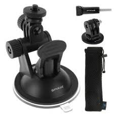 <b>PULUZ Car Suction Cup</b> Mount with Screw & Tripod Mount Adapter ...