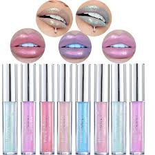 <b>2019 Hot Liquid</b> Crystal Glow Lip Gloss Lip Tint Laser Holographic ...