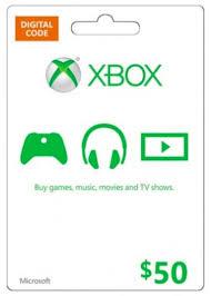 Get Microsoft Gift Card - $50 (Xbox One/360) cheaper   cd key ...
