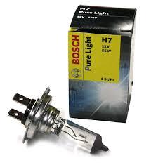 Галогеновая <b>лампа Bosch</b> Standart/Werkst <b>H7 12V</b> 55W купить с ...