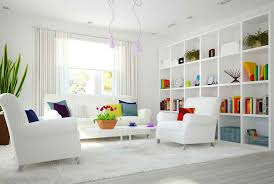 this is perhaps one of the most beautiful white living room ideas so far the ingenious use of bright cheerful color objects and accessories in a beautiful white living room