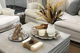 coffee table decor fall