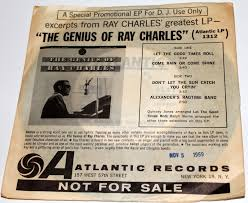 ray charles video museum  promotional ep