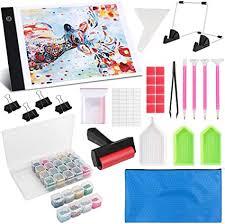 Diamond Painting A4 LED Light Pad Kit, LED Artcraft ... - Amazon.com