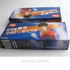 Original <b>DHS</b> 40+ <b>3 stars</b> new cell dual table tennis <b>ball</b> new ...