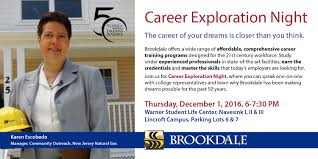 career exploration night brookdale community collegebrookdale event navigation
