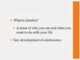 ms murphy s psychology class adolescence identity and the here are the slides from the adolescence keynote focus most of marcia s theory of identity development additionally the breakfast club assignment is