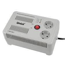 <b>Стабилизатор</b> напряжения (UL-00003602) <b>Uniel</b> 500ВА <b>U</b>-<b>RST</b> ...
