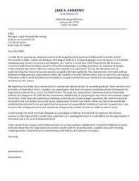 Doc               Best Law Firm Cover Letters Sample Cover Letter     Cover Letter Templates