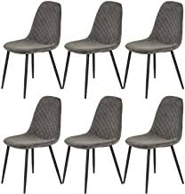 6 Grey Dining Chairs - Amazon.co.uk