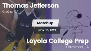 Boys Varsity Football - Thomas Jefferson High School - Gretna ...