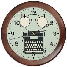 """Часы круглые из дерева """"<b>Коллаж</b> ретро"""" #396176 от alexzel ..."""