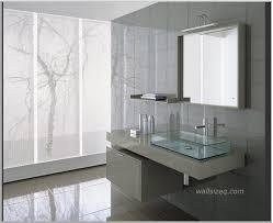 inspiring and cool light grey bathroom vanities mica iii modern vanity with transparency glasses ornament amazing contemporary bathroom vanity lighting 3