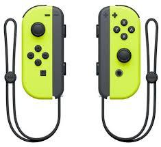 Купить <b>контроллеры Nintendo</b> Switch <b>Joy</b>-<b>Con</b> Duo (<b>Neon</b> Yellow ...