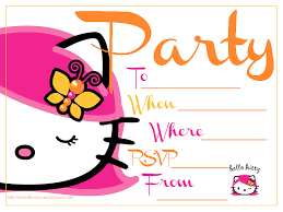fearsome hello kitty birthday party invitations com hello kitty birthday party invitations as impressive ideas for unique birthday invitation design 159201619