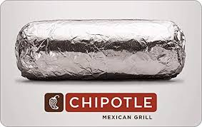 Amazon.com: Chipotle Mexican Grill Gift Card- E-mail Delivery: Gift ...
