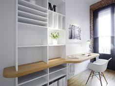 love the built in bookcase desk combo works great for a small space bookshelves office great