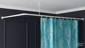 <b>Карнизы для ванной</b> – купить штангу для шторы в ванную в ...