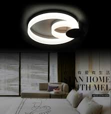 led celling light contemporary simple acrylic circular creative mirror lamp flush mount ceiling light design for restaurant in ceiling lights from lights ceiling lighting design