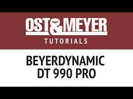 Полноразмерные <b>наушники Beyerdynamic DT 990</b> PRO ...