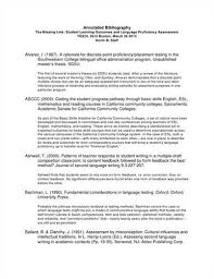 Samples Of Annotated Bibliography In Apa Format   Cover Letter