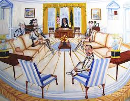 oval office ghost with president obama lincoln washington kennedy and martin luther king government obama barak obama oval office golds