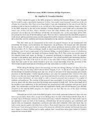 sample of reflection essay  semut my ip mereflective essay on writing template templatereflective essay on writing