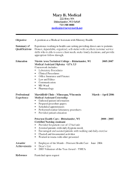 sample entry level resume isabellelancrayus mesmerizing sample entry level resume sample medical assistant resume description for sample medical assistant resume description for