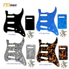 <b>Pleroo Guitar</b> parts left handed <b>pickguards with</b> 11 Screws For ...
