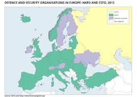 history >15 defence and security organisations in europe nato and csto 2013