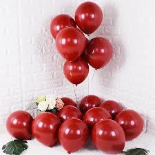 Kuchang <b>10PCS</b> 20PCS 50PCS 5inch <b>12inch</b> Ruby Red Glossy ...