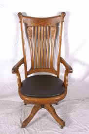 antique swivel chair art nouveau oak desk chair johnson chair co antique swivel office chair