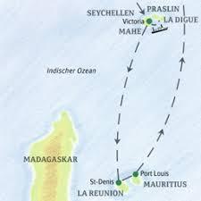 Mauritius naar Seychellen