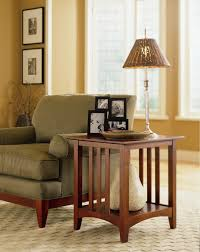 size living room wooden table