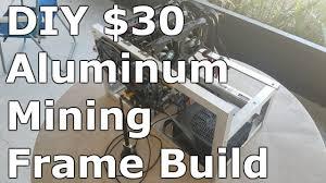 <b>DIY Aluminum</b> Mining Rig <b>Frame</b> - YouTube