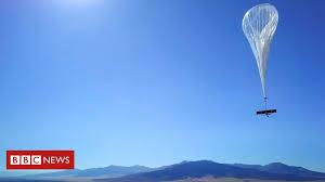 4G internet <b>balloons</b> take off over Kenya - BBC News