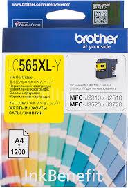 Купить <b>Картридж BROTHER LC565XLY</b>, желтый в интернет ...