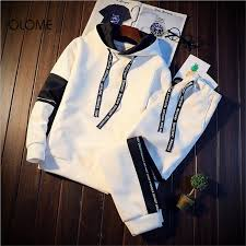 OLOME <b>New 2019 Spring Casual</b> Hoodies Men Off White Jacket ...