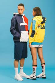 "FILA 2016 Spring/<b>Summer</b> ""Black Line"" Collection | 1. мода 80х ..."