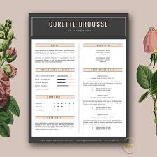 1000+ images about + resume templates on Pinterest | Resume ... Creative Resume Template | Feminine Resume + FREE Cover Letter for Word and Pages | 3 Page Resume Design | Word Template | Instant Download
