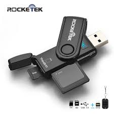 Rocketek same time read 2 <b>cards usb 3.0</b> multi <b>memory</b> otg phone ...